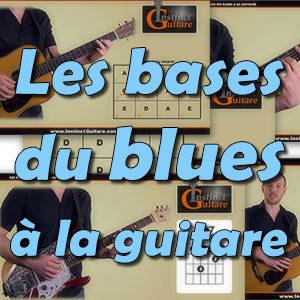 Les bases du blues a la guitare
